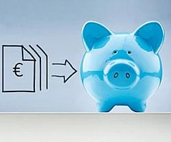 Sparschwein Rechnungseingang: Bis zu 80 Prozent der Kosten einsparen